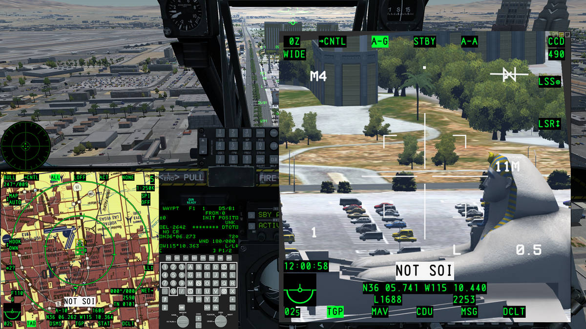 Display / MFCD exports for Digital Combat Simulator - UltraMFCD for DCS